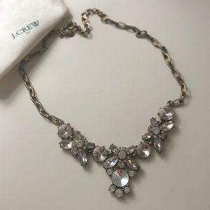 J crew crystal statement necklace